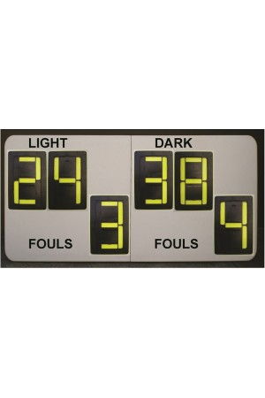 6 Digit Basketball Self Supporting Scoreboard