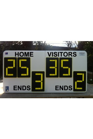 6 Digit Bowl Self Supporting Scoreboard