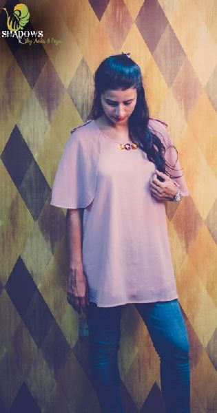 Ladies Sober Crepe Top
