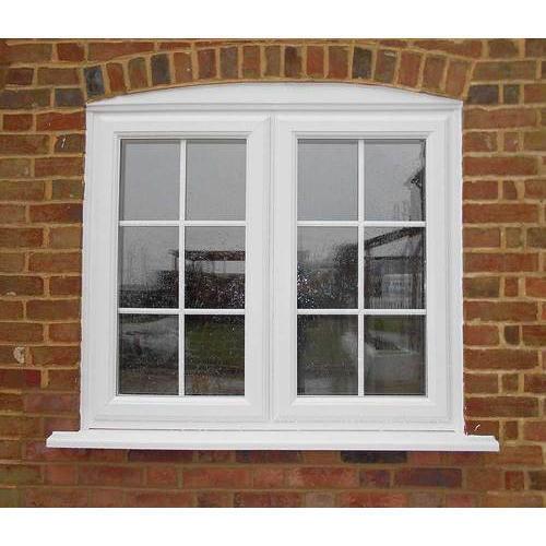 White High Quality UPVC Window