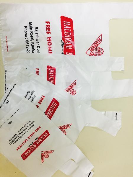 HM HDPE Printed U Cut Bags