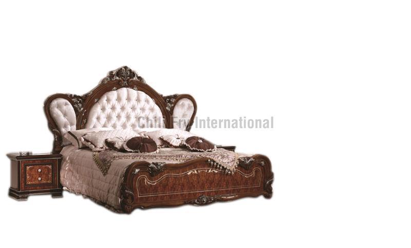 CFI-5604 Wooden Double Bed