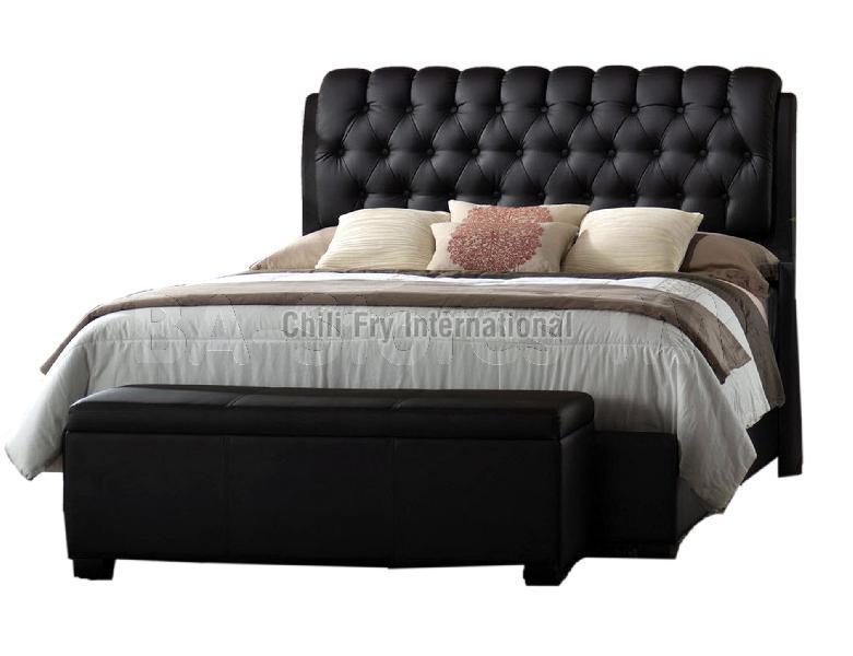 CFI-5607 Wooden Double Bed