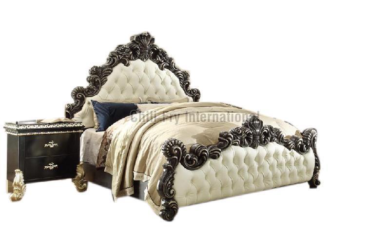 CFI-5611 Wooden Double Bed