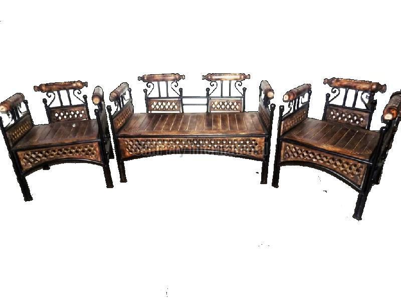 Iron Folding Sofa Set