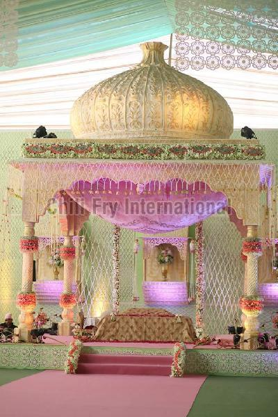 Wedding Fiber Mandap 03