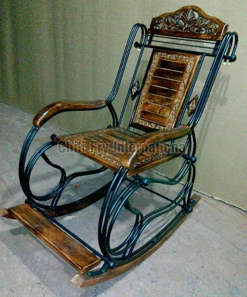 Wooden Rocking Chair 02
