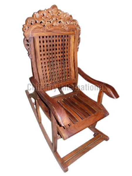 Wooden Rocking Chair 03