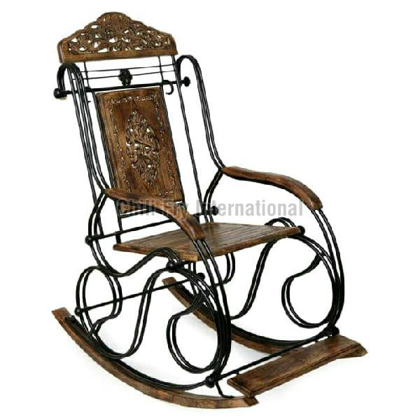 Wooden Rocking Chair 04