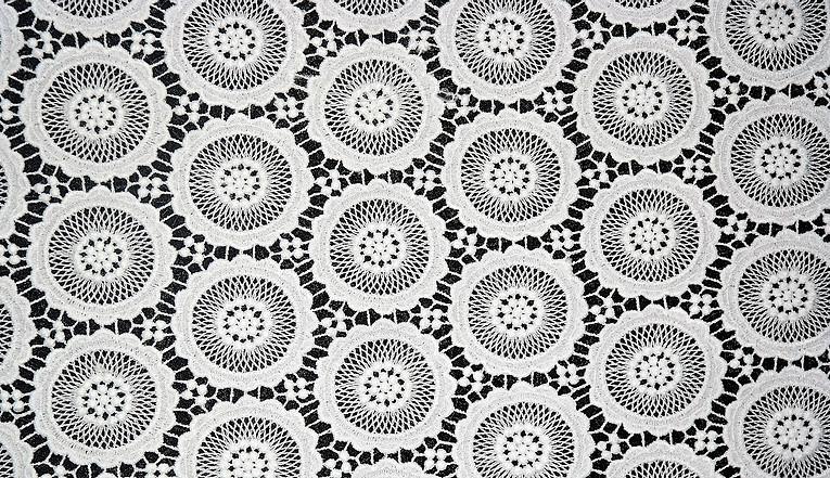 Guipure Allover Fabric 06