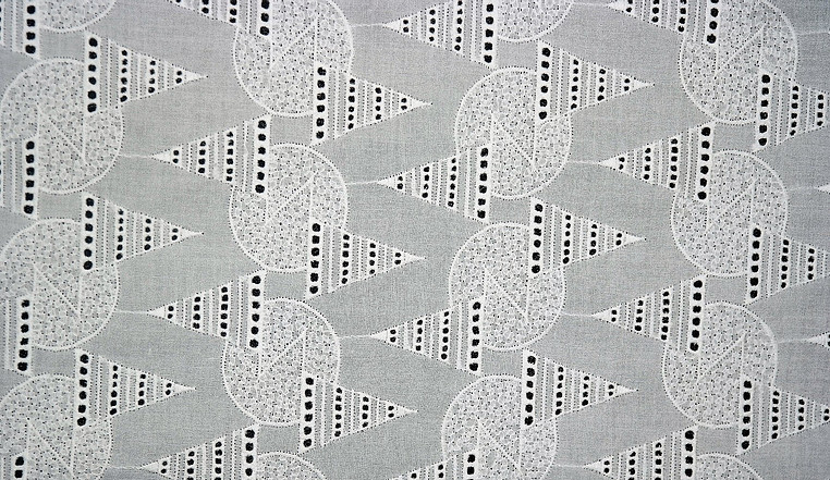 Poly Cotton Embroidery Fabric 04