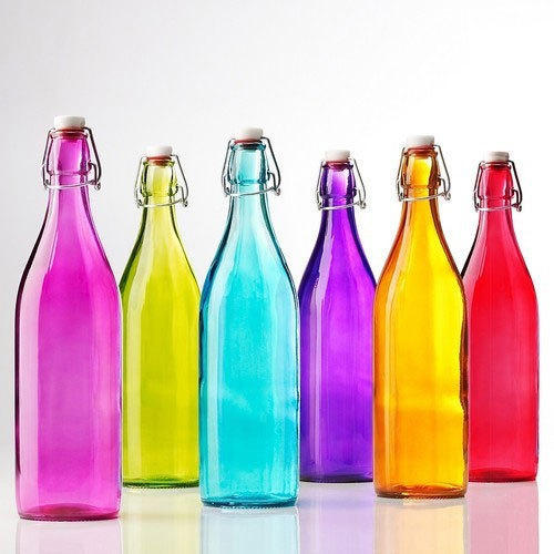 Glass Drinking Water Bottles