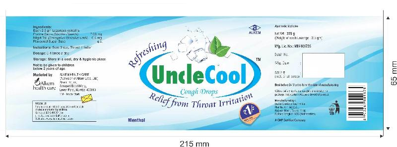 Uncle Cool Cough Drops Candy 03