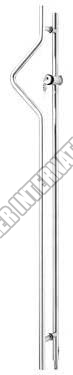 Glass Door Handle (OGHL-55-R/L-K2N-25x1400)