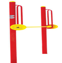 Poles With Fixed Weight Dumbbells