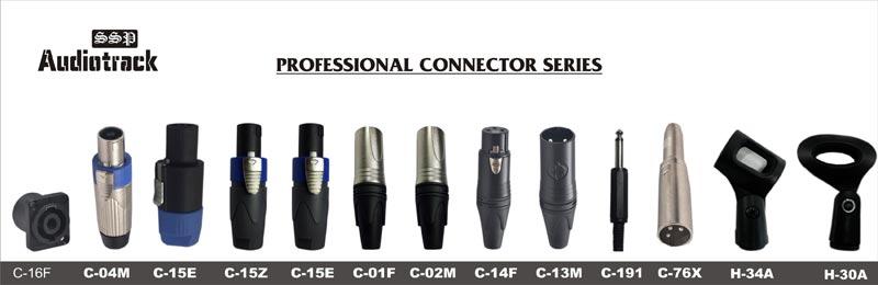 Audio Cable Connectors