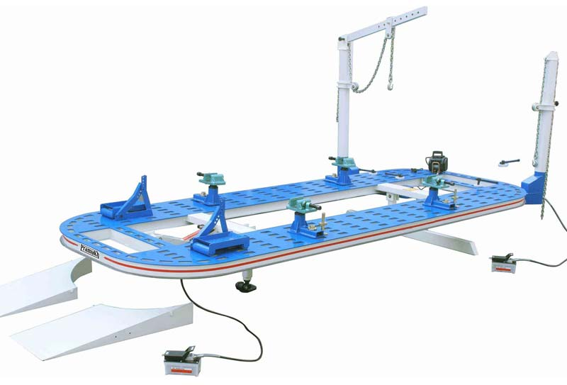 Car Body Collision Benches (W-1600)