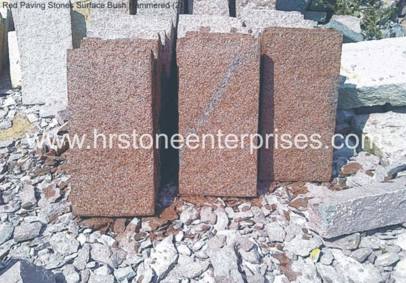 Red Paving Stones
