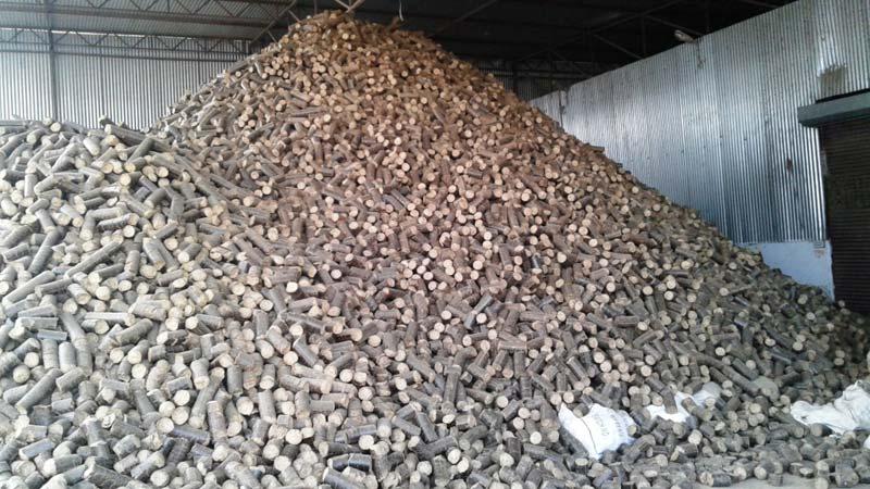 Solid Biomass Briquette