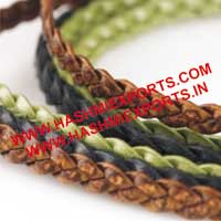 Flat Braided Leather Cord (HE-BFLC-04)