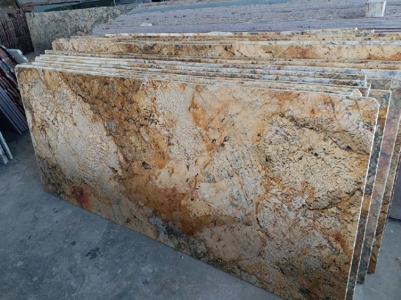 Alaska Gold Granite Slab 04