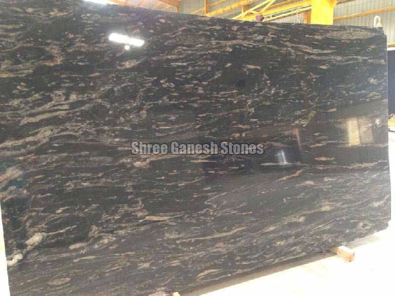 Black Fantasy Granite Slabs