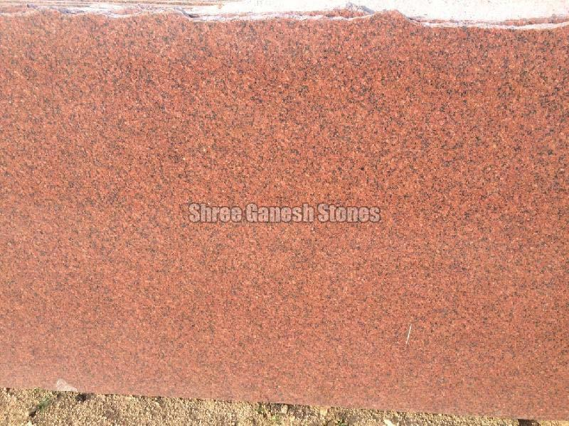 Bruno Red Granite Slabs