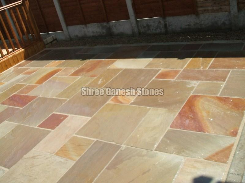 Camel Dust Paving Stone 01