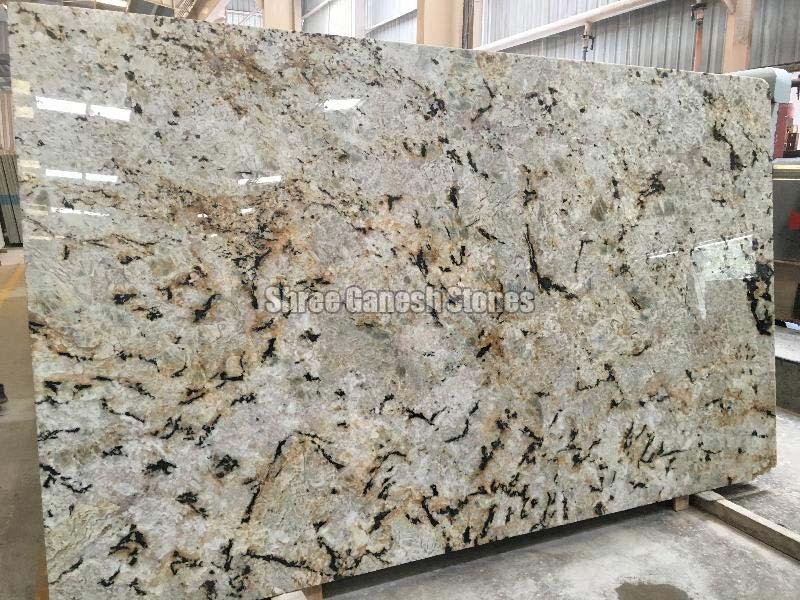 Exotica Gold Granite Slabs 01