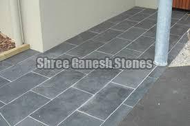 Kota Black Limestone Paving Stone