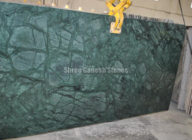 Plain Green Marble 02