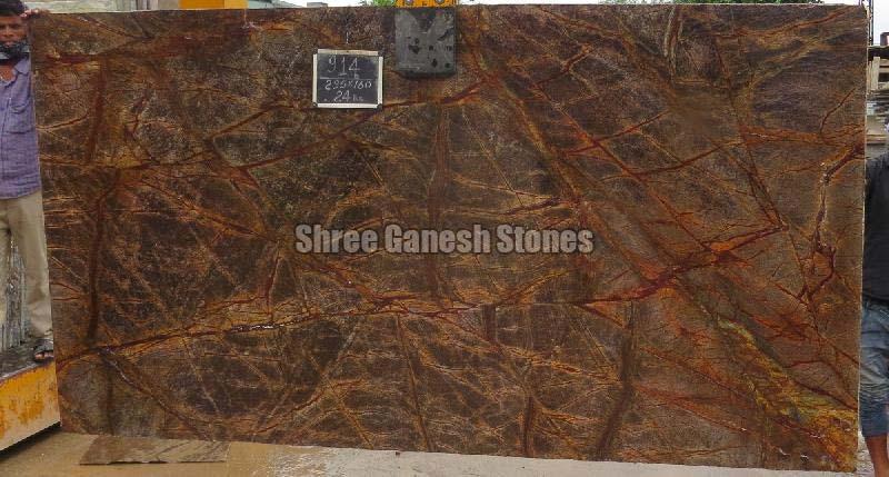 Rainforest Brown Marble 02