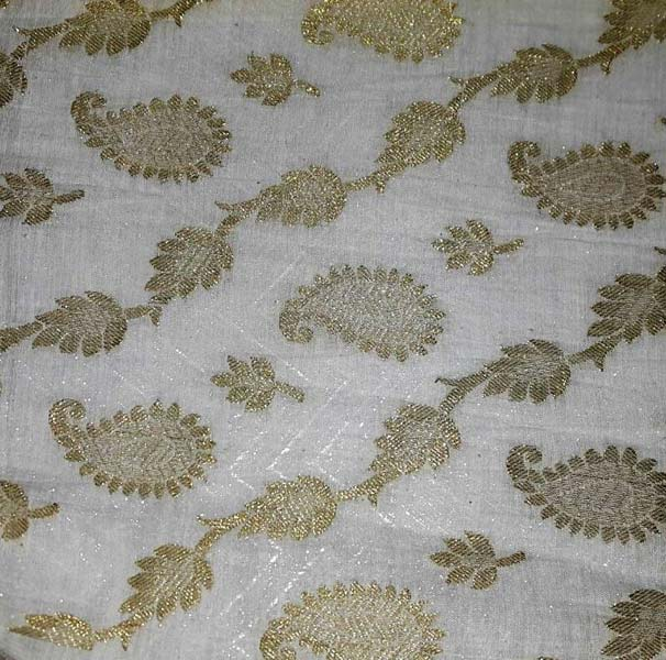 Chanderi Gold Brocade Designs 09