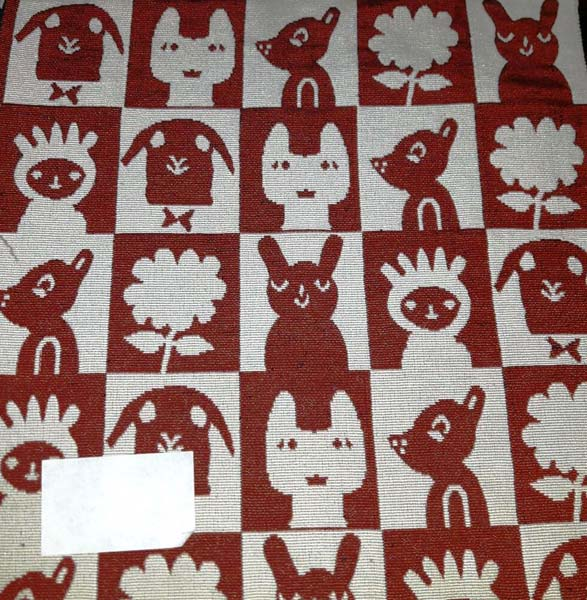 Cotton Handloom Fabric Design 17