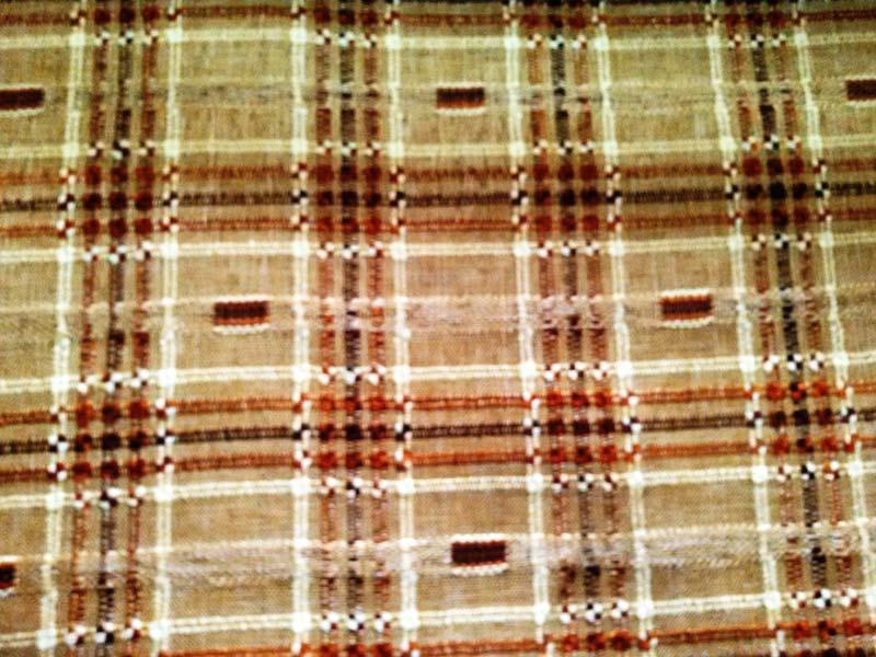 Earthy Brown Vintage Fabrics 03