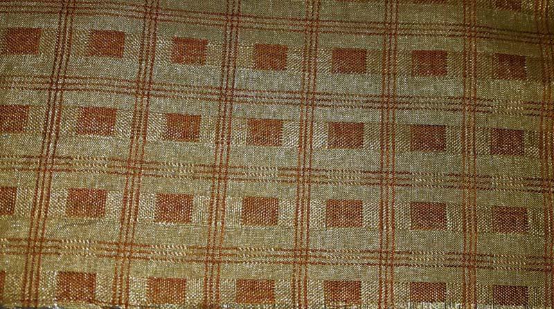Earthy Brown Vintage Fabrics 06