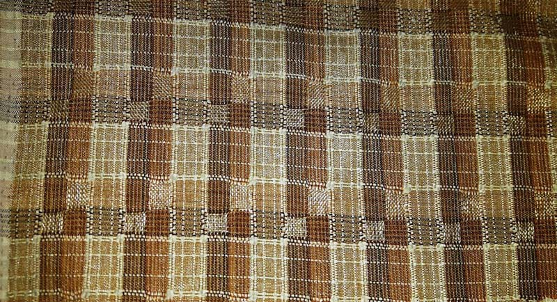 Earthy Brown Vintage Fabrics 07