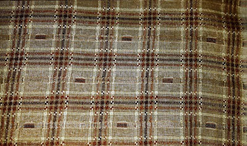 Earthy Brown Vintage Fabrics 08