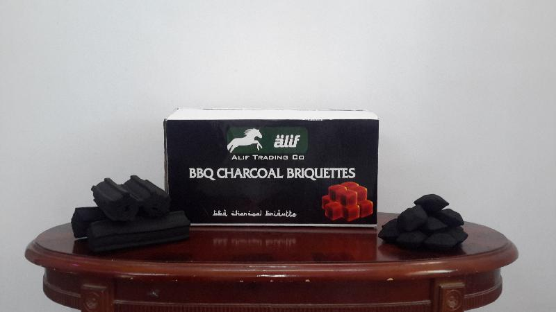 Coconut Shell Charcoal Briquette 01