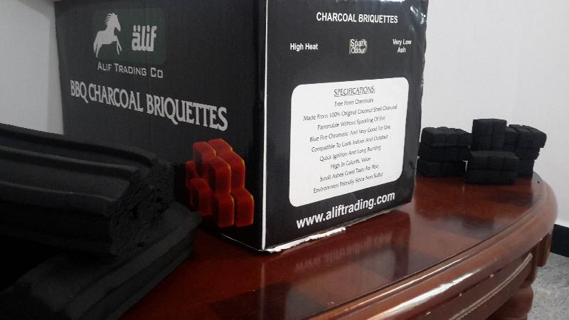 Coconut Shell Charcoal Briquette 02