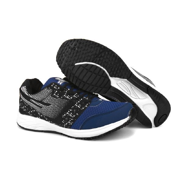 8004 ZRIX Mens Black & Blue Shoes 03