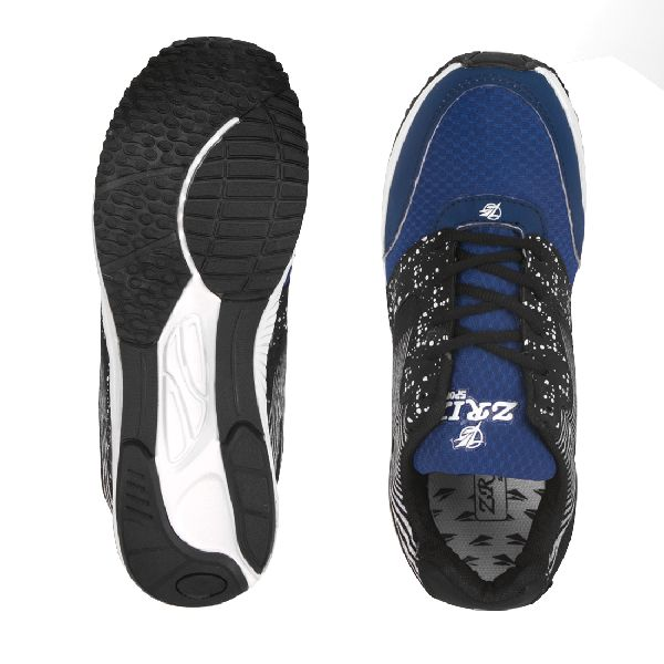 8004 ZRIX Mens Black & Blue Shoes 04