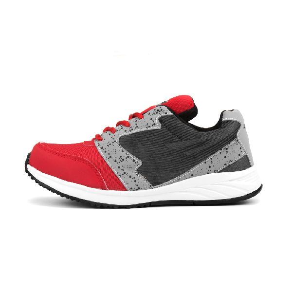 8004 ZRIX Mens Grey & Red Shoes 03