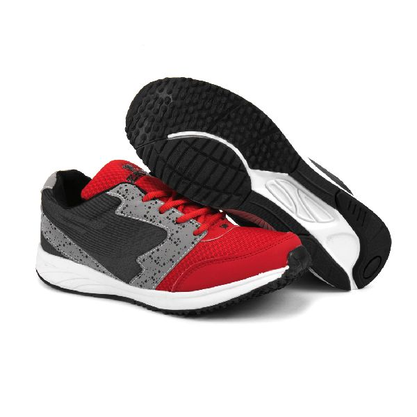 8004 ZRIX Mens Grey & Red Shoes 04