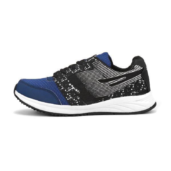 8004 ZRIX Mens Black & Blue Shoes 02