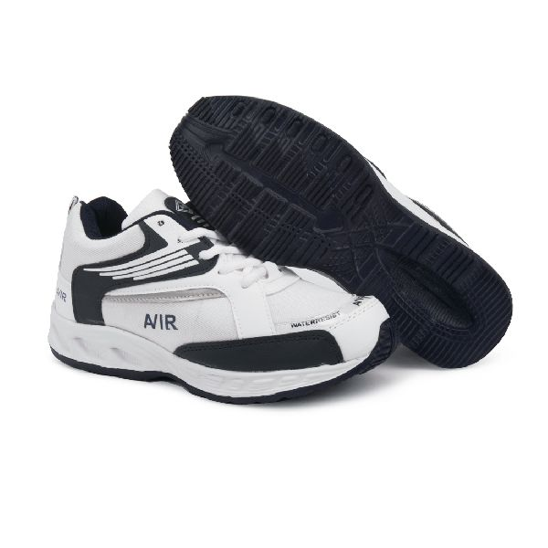 Mens Black & White Shoes 04