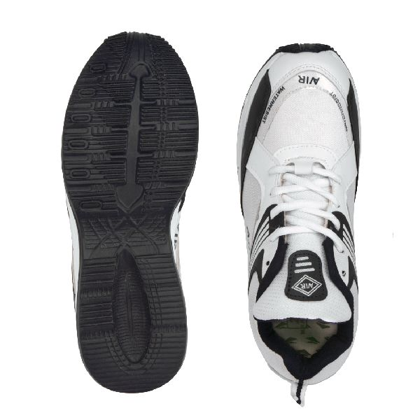 Mens Black & White Shoes 05