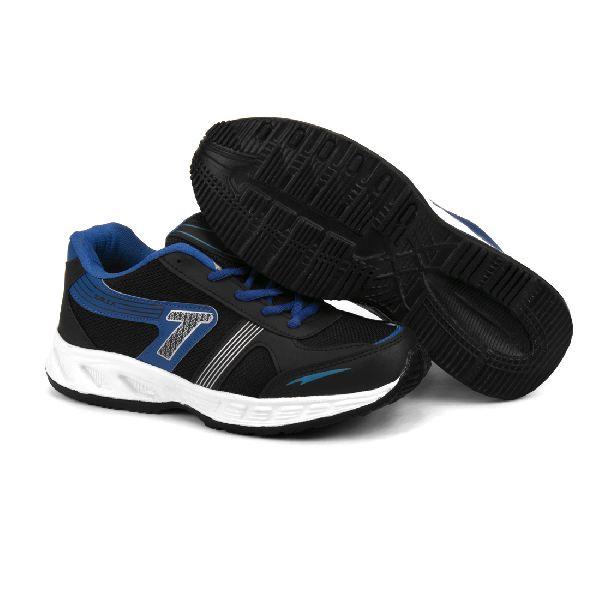 Mens Black & Blue Shoe 04
