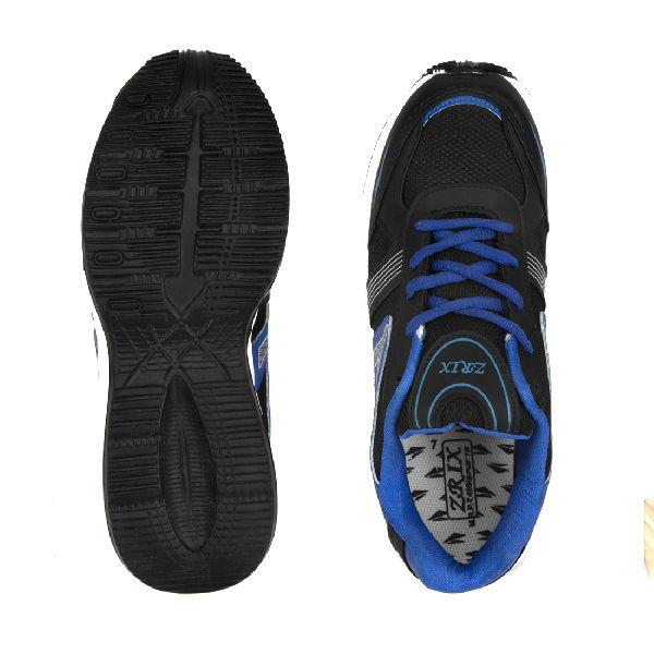 Mens Black & Blue Shoe 05