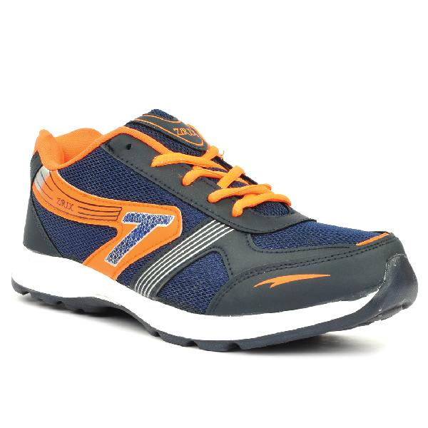 Mens Black & Orange Shoe 04